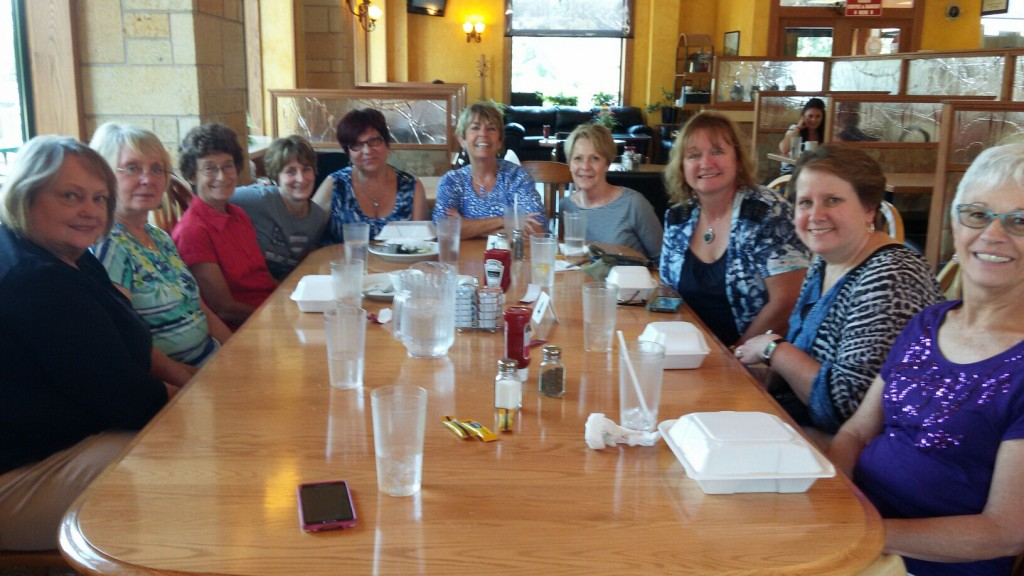 RHHA Ladies Lunch at Olde Towne Coffee Shop in Cottage Grove